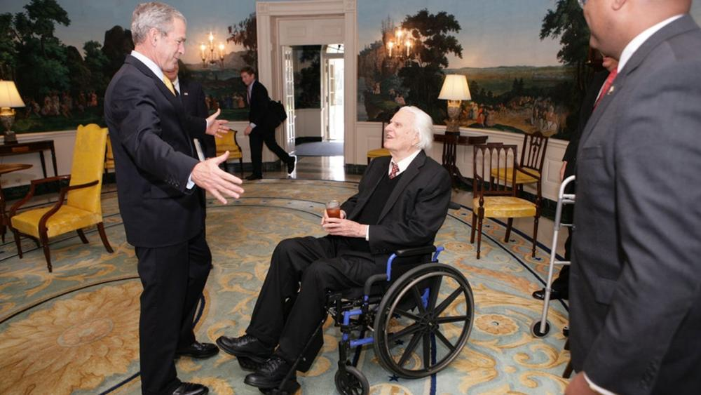 George W. Bush and Billy Graham