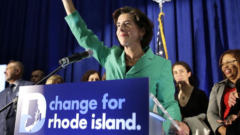 Rhode Island Gov. Gina Raimondo (D). (AP Photo)