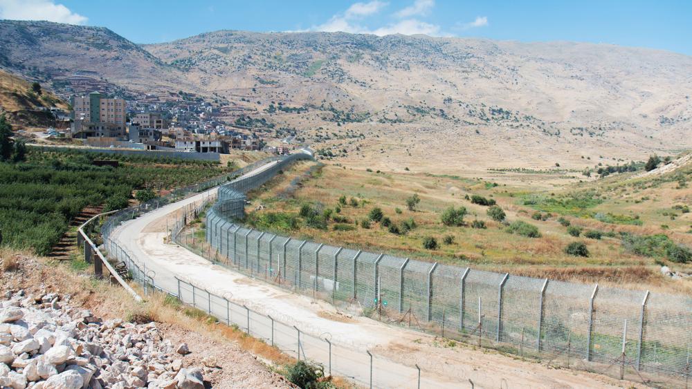 Golan Heights at Syrian Border, Photo, CBN News, Jonathan Goff