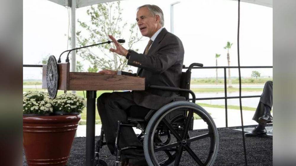 Texas Governor Greg Abbott. (Image credit: PureFlixInsider)
