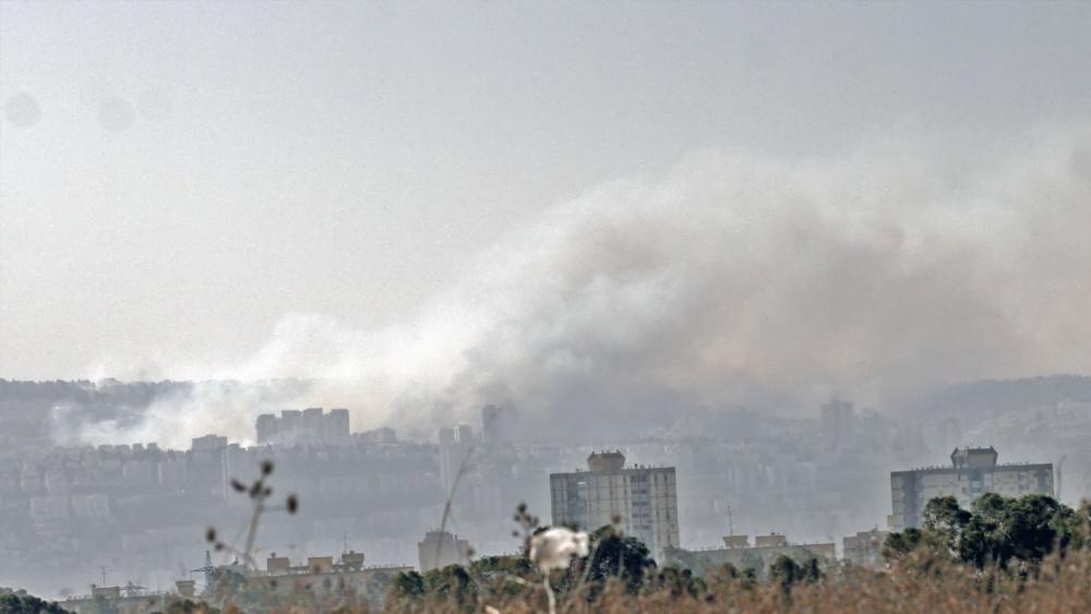Fires in Haifa, Courtesy TPS, Shay Vaknin