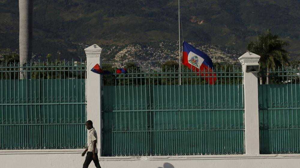 haitianflaghalfmast