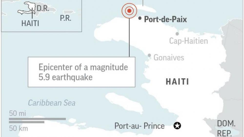 Strong Aftershock Rattles North Haiti Day After Deadly Quake Cbn News