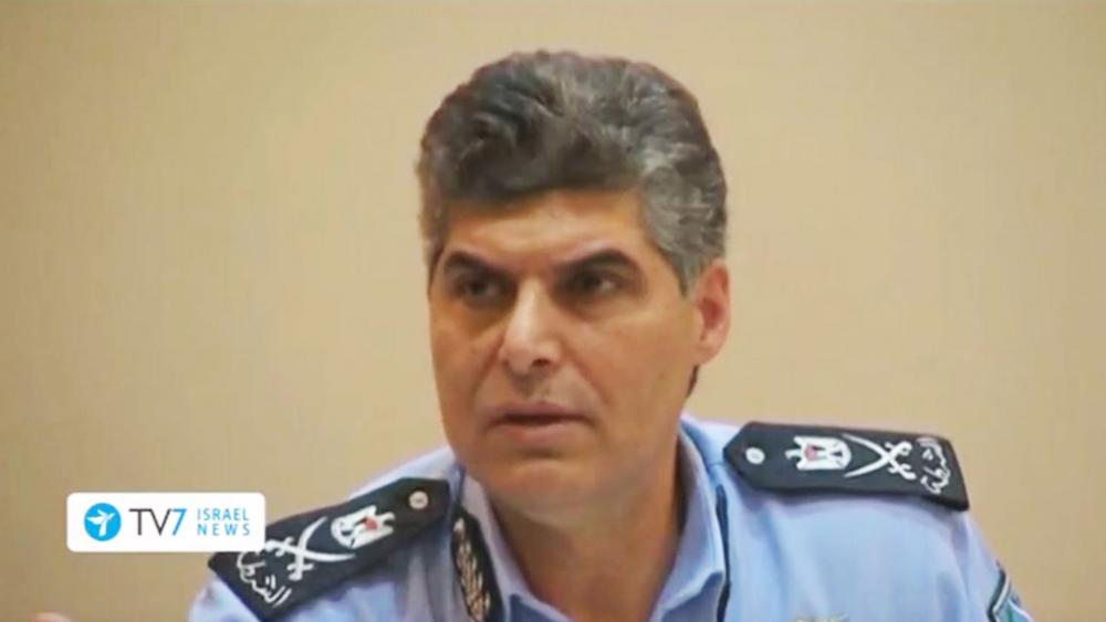 P.A. Police Chief Hazem Atallah in Ramallah, Screen Capture