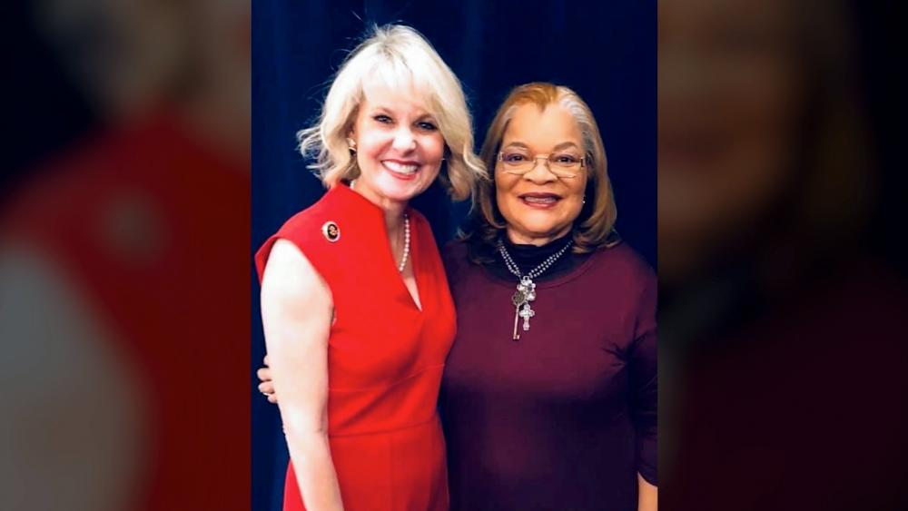Alveda King and Ginger Howard