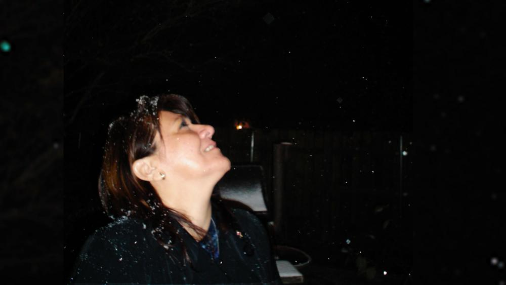 The Christmas snowfall in 2004 in McAllen, TX was the sign Toni Espinoza had been praying for.