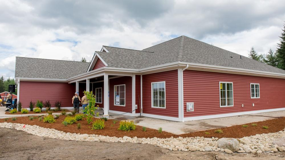 An example of one of the homes built for military veterans by the Homes for Our Troops organization. (Image credit: Homes For Our Troops/Facebook)