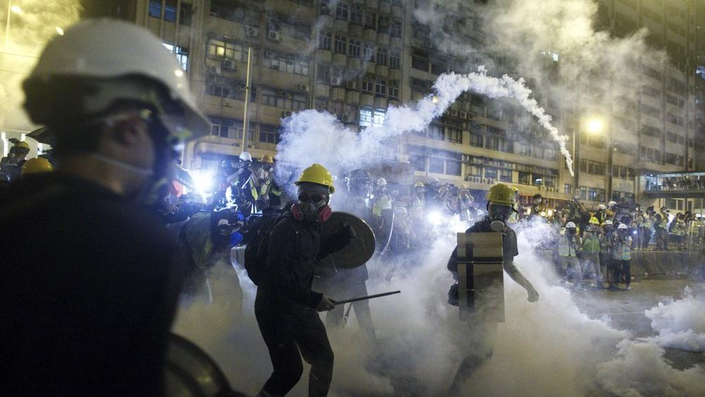 As Hong Kong Protestors Fight for 'Freedom of Expression