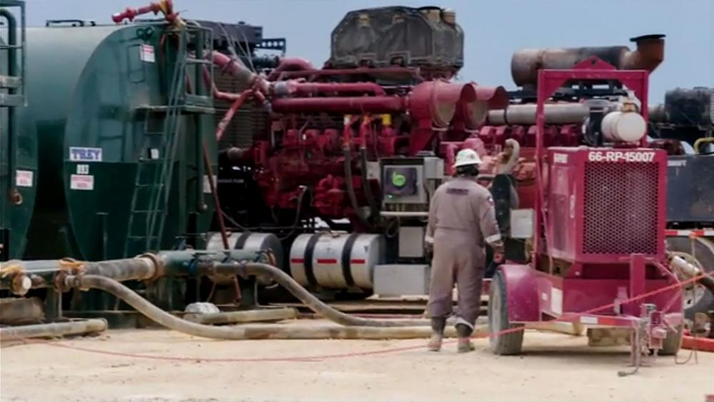 Oil production in the Permian Basin