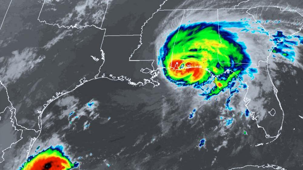Hurricane Sally made landfall this morning