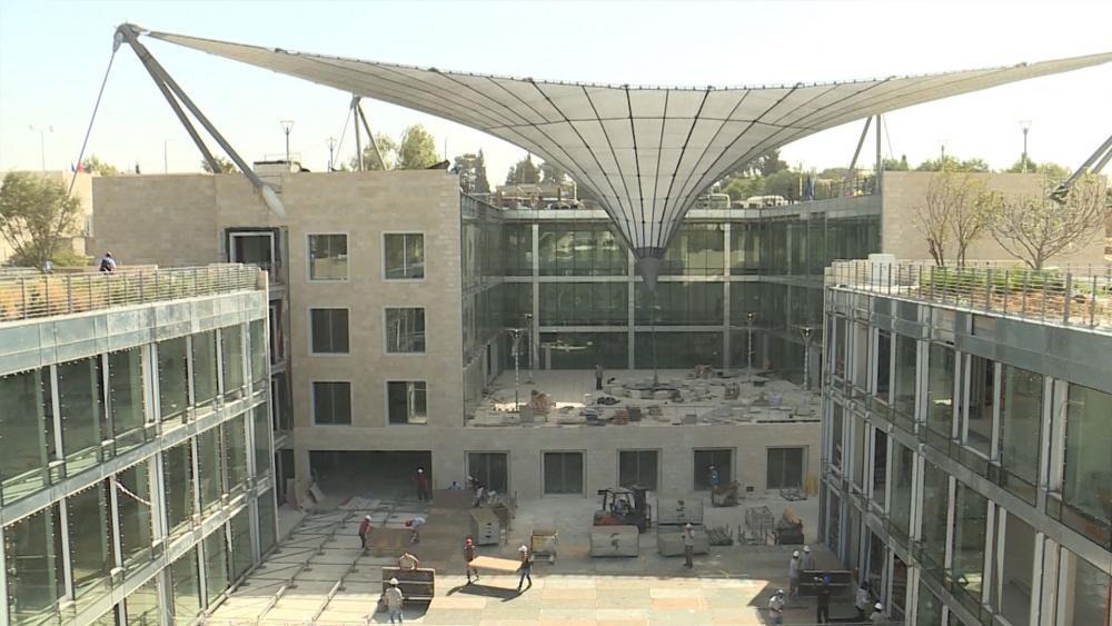 IAA campus in Jerusalem, CBN News image