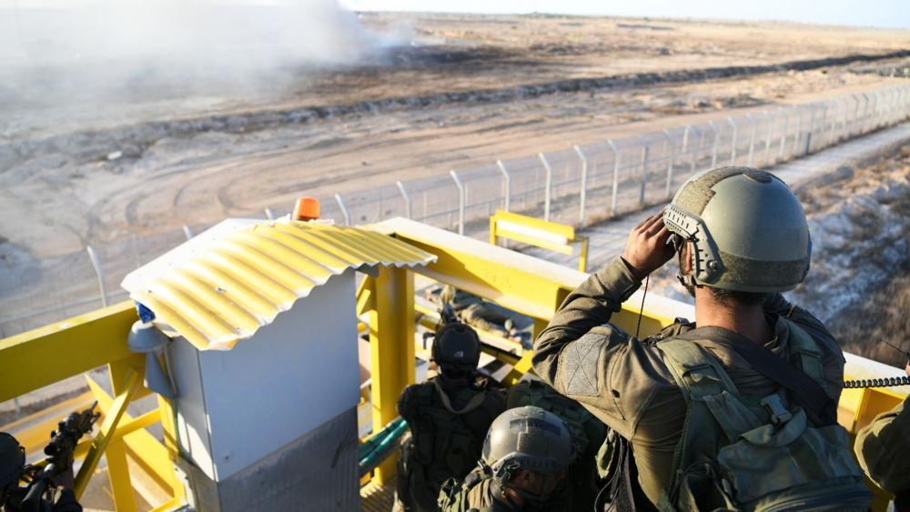 IDF Troops at the Gaza Border, Photo, IDF Spokesman's Office