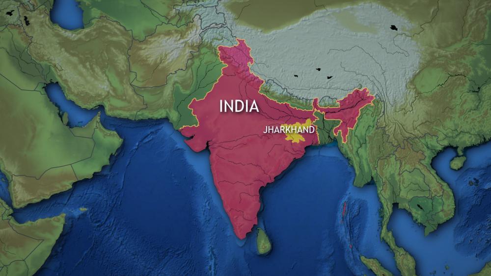 Indiastatemap