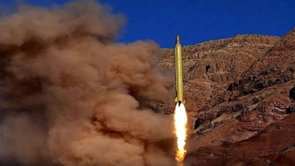 Iranian Missile Test, Screen Capture