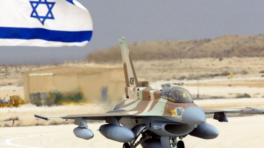 Israel F-16, Courtesy Israel Air Force