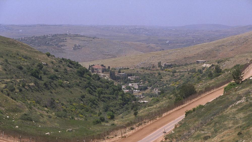 Border fence between Israel and Lebanon, Courtesy GPO, Moshe Milner