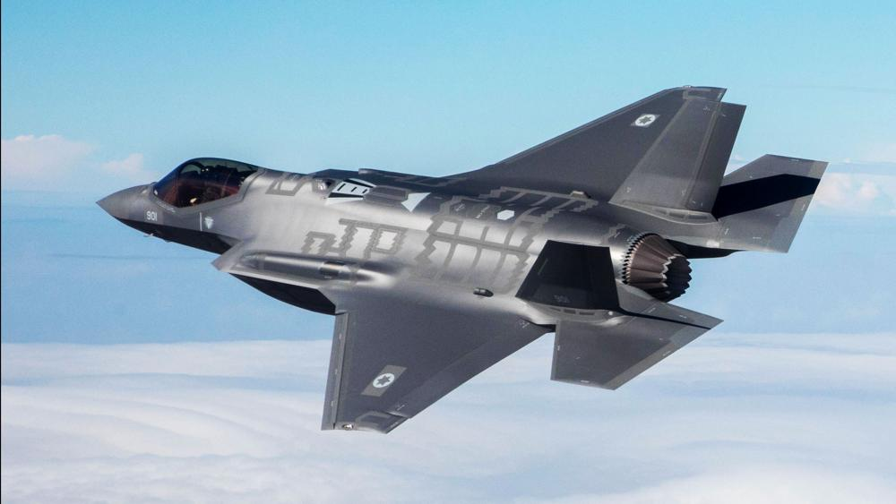 The 'Adir' (F-35I) Stealth Fighter Jet, Photo, Israel Air Force