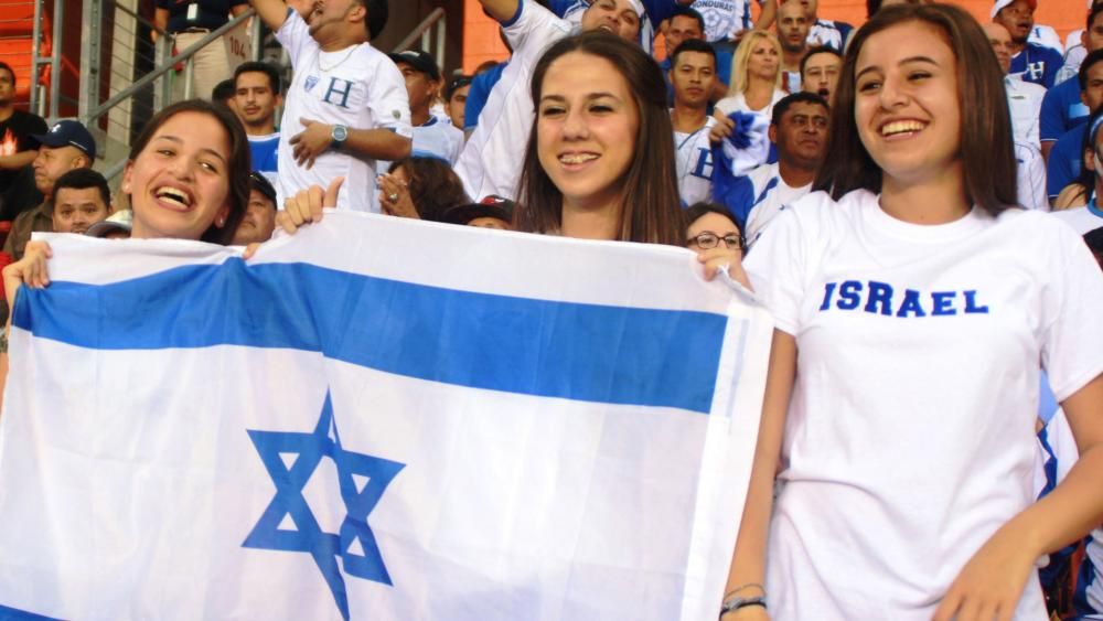 Enthusiastic Soccer Fans, Photo, Israeli Missions around the World