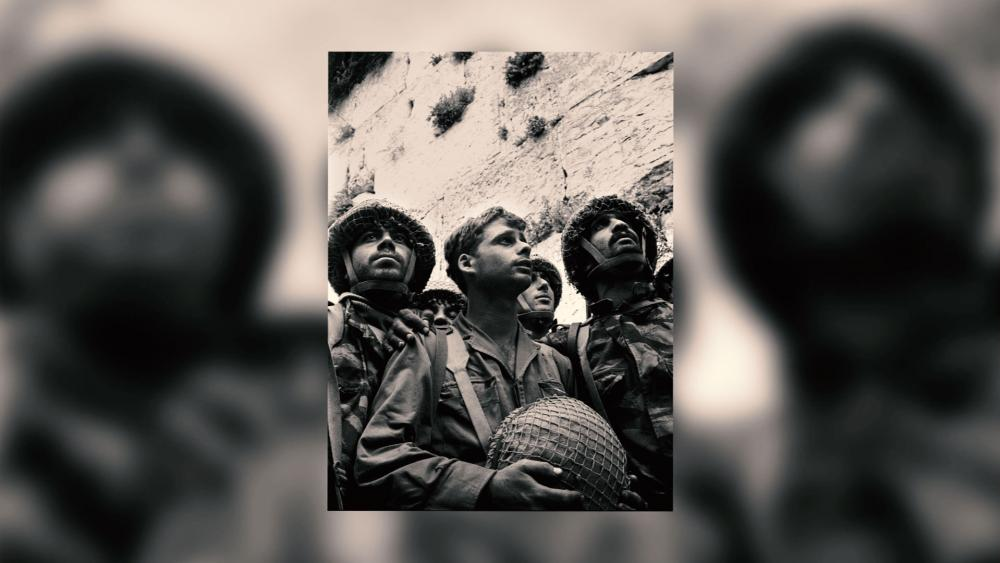 Israeli Paratroopers at the Western Wall, 1967