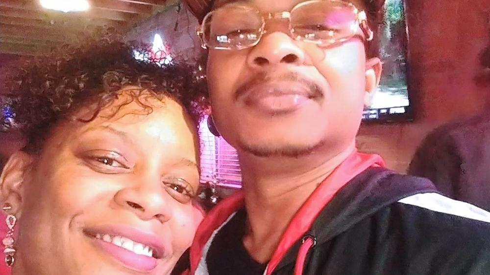 In this September 2019 selfie, Jacob Blake poses with his second cousin Adria-Joi Watkins. Blake is recovering from being shot multiple times by Kenosha police on Aug. 23. (Photo Courtesy Adria-Joi Watkins via AP)