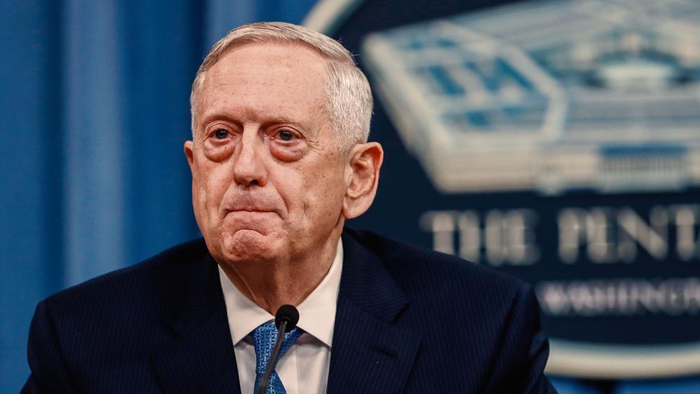 US Defense Secretary James Mattis, Photo AP