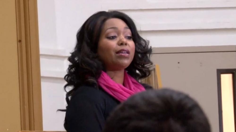 Jannique Stewart. (Screenshot courtesy: Life Training Institute/Vimeo)
