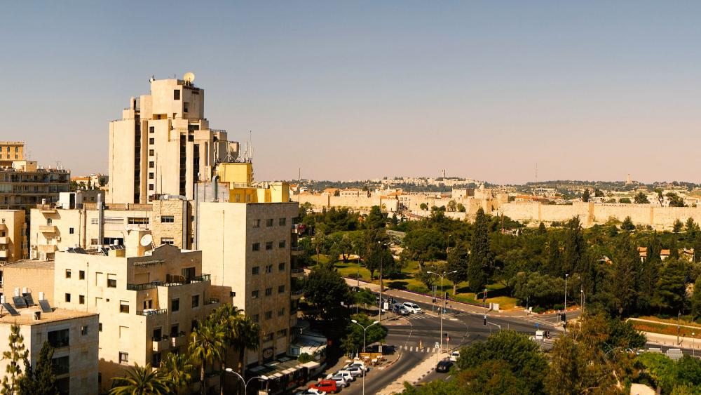 Inbar Hotel's 360 View of Jerusalem