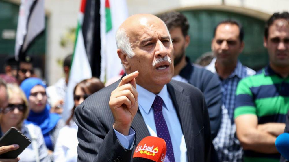 Palestine Football Association Head Jibril Rajoub, Screen Capture