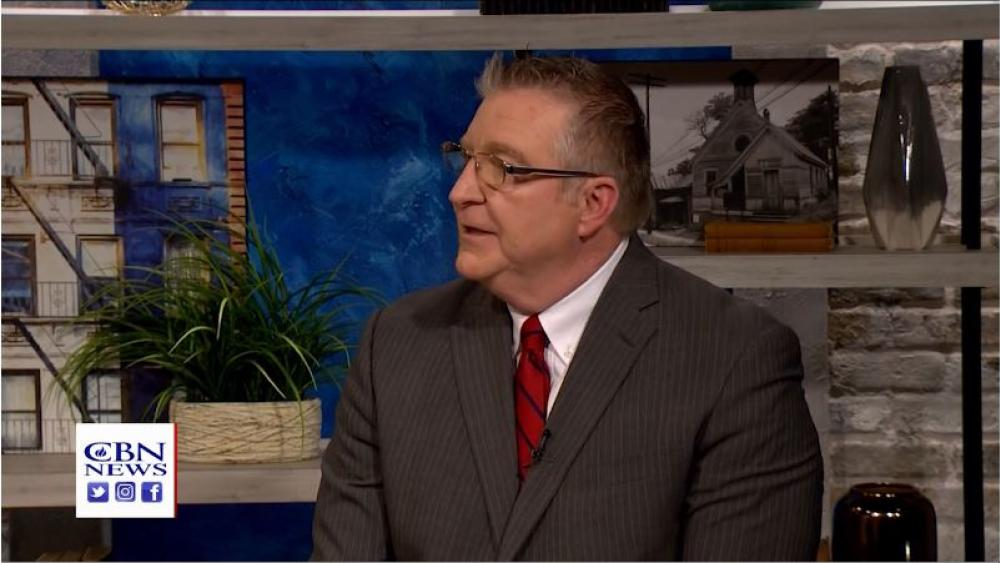 Jim Daly, president of Focus on the Family.  Image: CBN News
