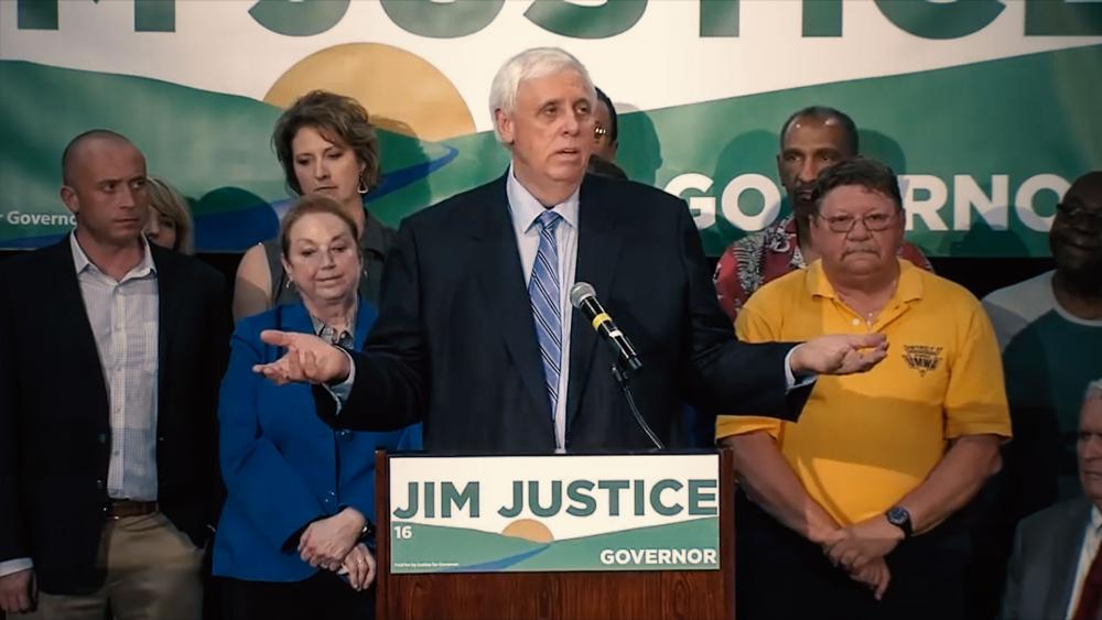 Jim Justice, WV Governor-elect