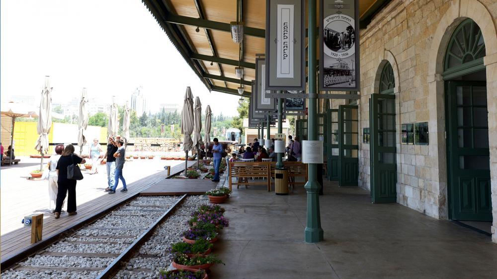 First Station Building in Jerusalem, Photo, GPO, Amos Ben Gershom