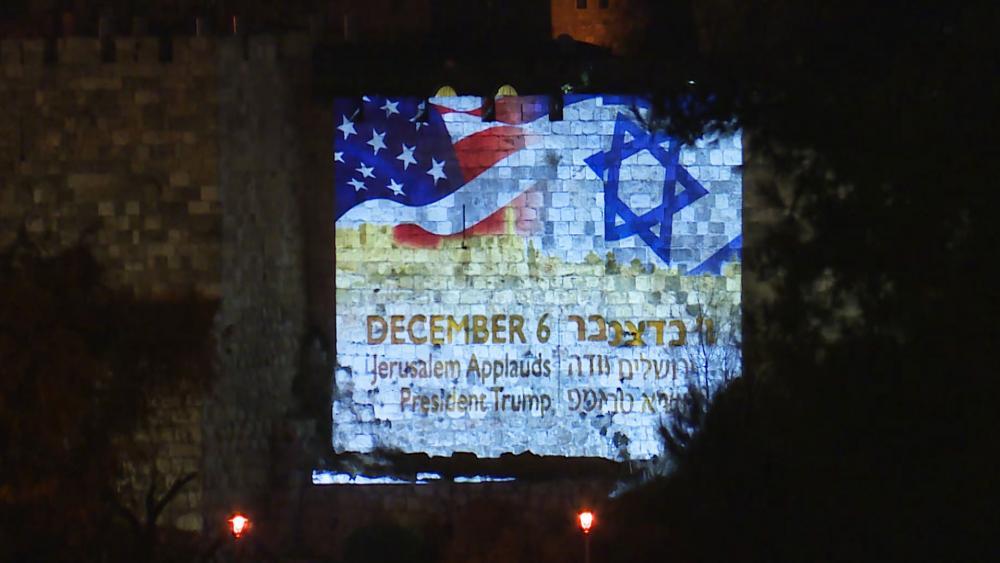 Jerusalem Celebrates, Photo, CBN News