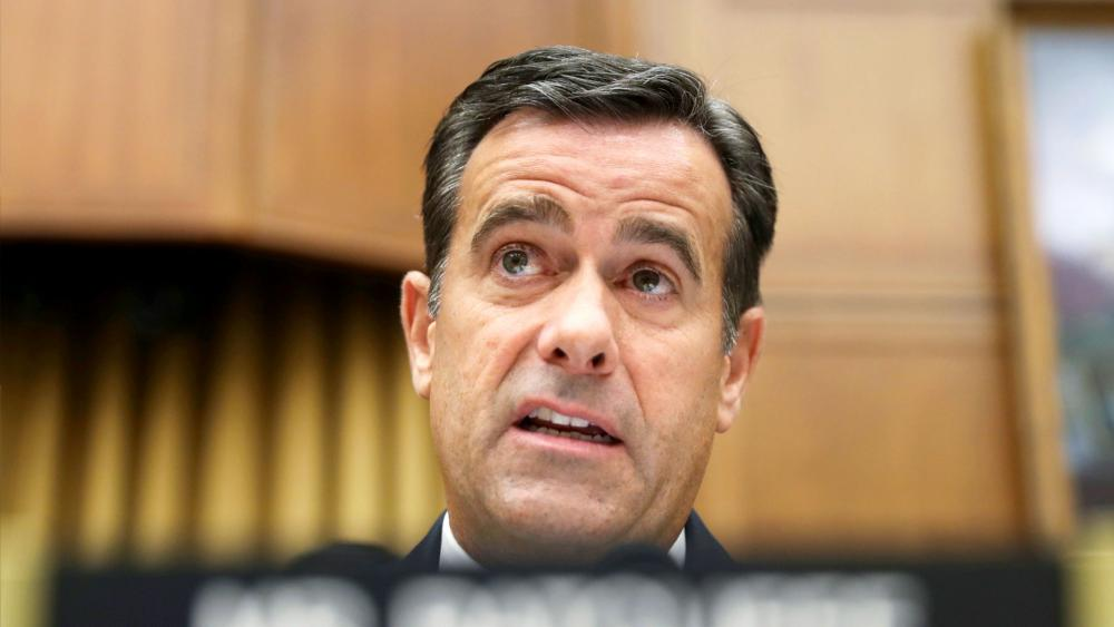 In this Wednesday, July 24, 2019, file photo, Rep. John Ratcliffe, R-Texas., questions former special counsel Robert Mueller as he testifies before the House Intelligence Committee hearing on his report on Russian election interference. (AP Photo)