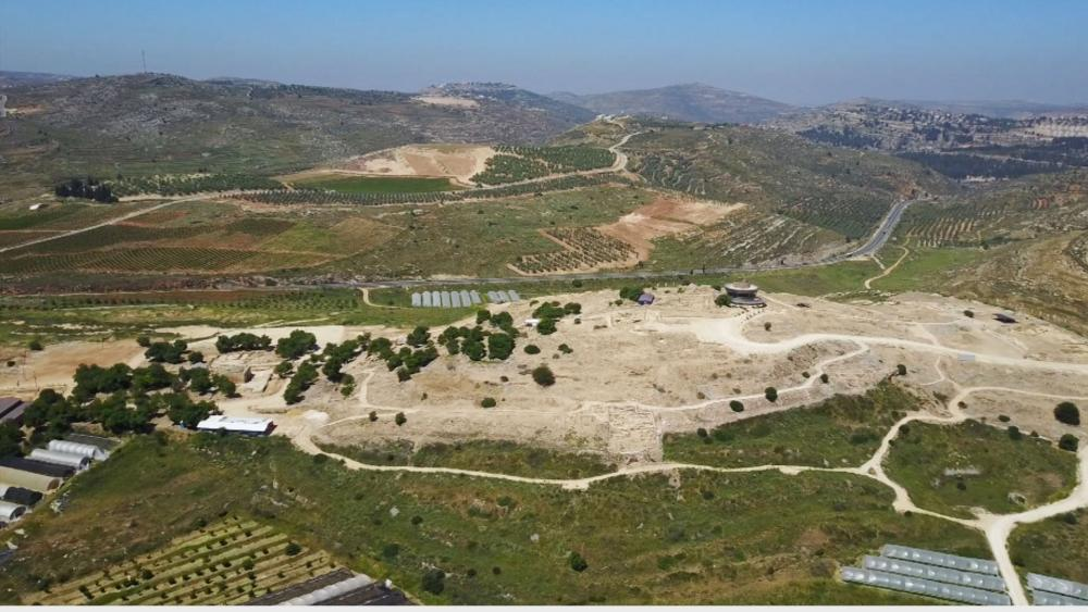 Location of Amichai, the new Samarian community replacing Amona, Photo, CBN News