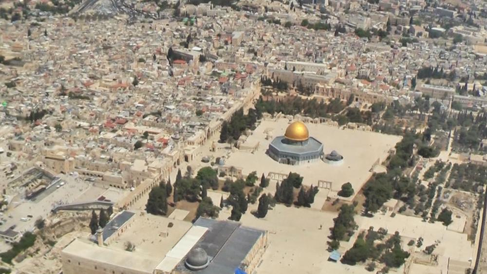 Temple Mount, Photo, CBN News, Jonathan Goff