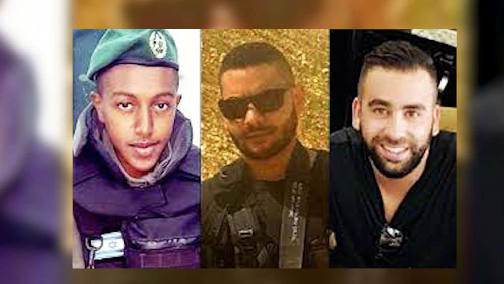 Israeli Victims of Terror Shooting in Har Adar