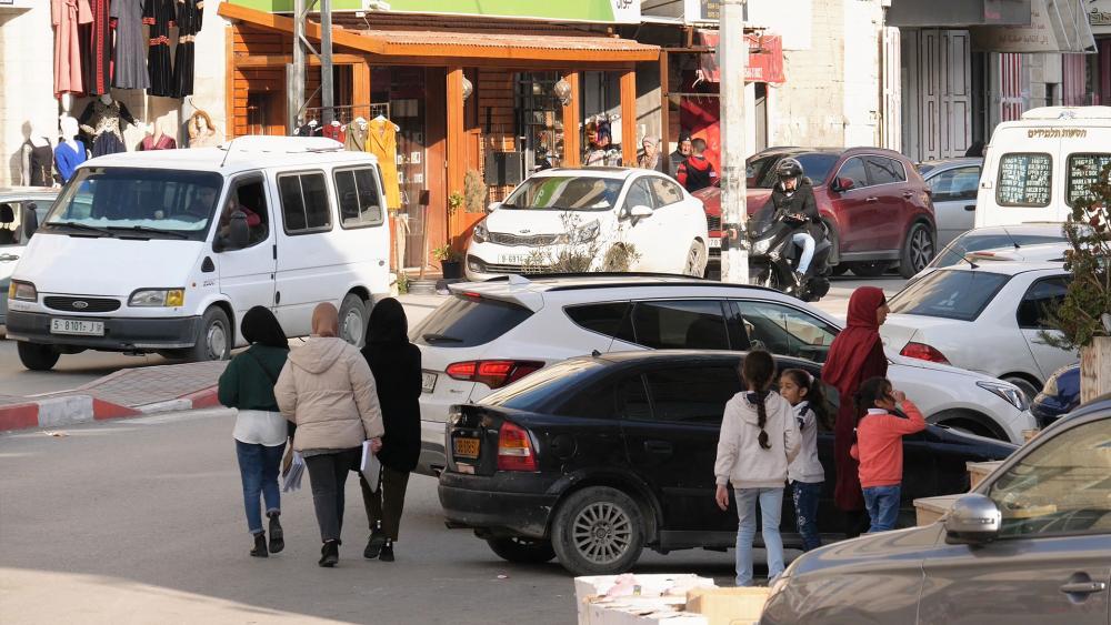 Palestinians Al Azariya/Photo Credit: CBN News, Jonathan Goff