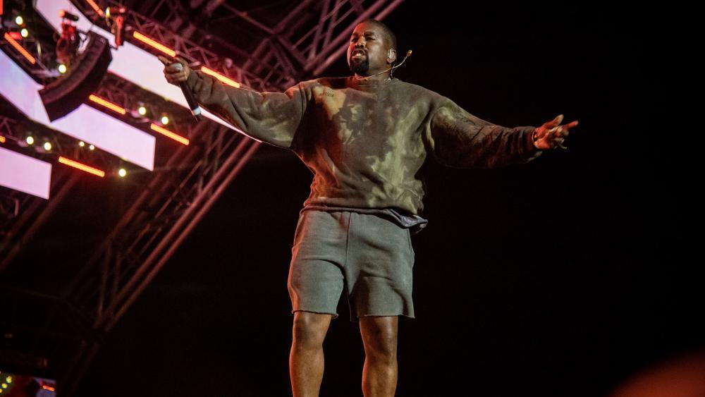 Rapper Kanye West. (AP Photo)
