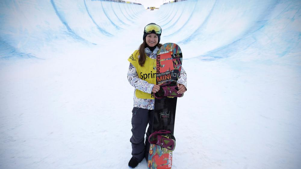 Transformed By Christ Snowboarder Kelly Clark Only Wants To Reach