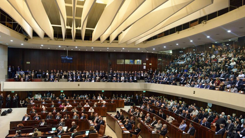 Knesset plenum, GPO file photo