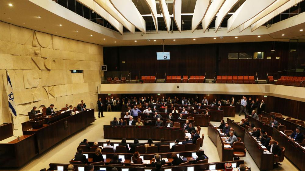 Knesset Passes Regulation Bill, Courtesy TIP, David Michael Cohen