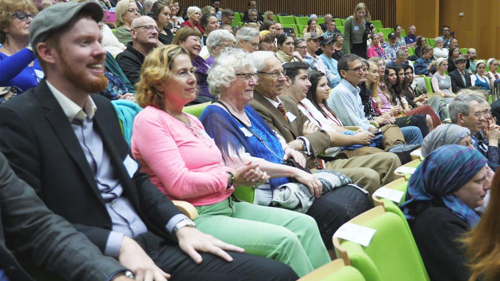Participants at the Knesset's Salute to Christian Volunteers, Photo, CBN News