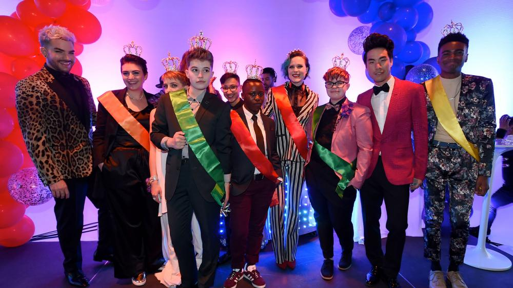 More schools are going gender neutral with celebrations like homecoming king and queen. BuzzFeed created something called Queer Prom in 2017 to celebrate LGBT students' right to experience prom. (Photo by Jordan Strauss/Invision for BuzzFeed/AP Images)