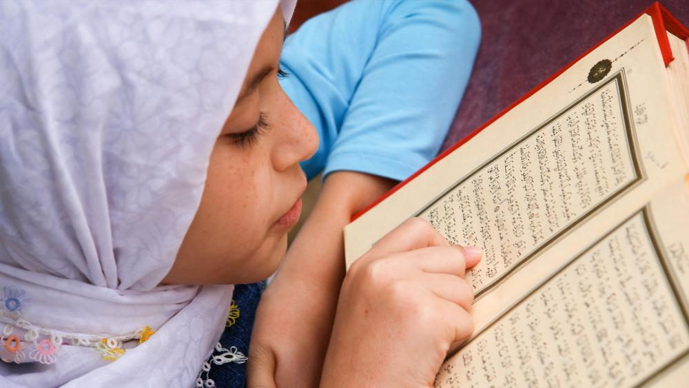 Little girl hijab