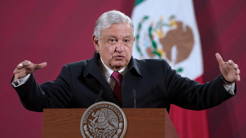 Mexican President Andres Manuel Lopez Obrador (AP Photo/Marco Ugarte, File)