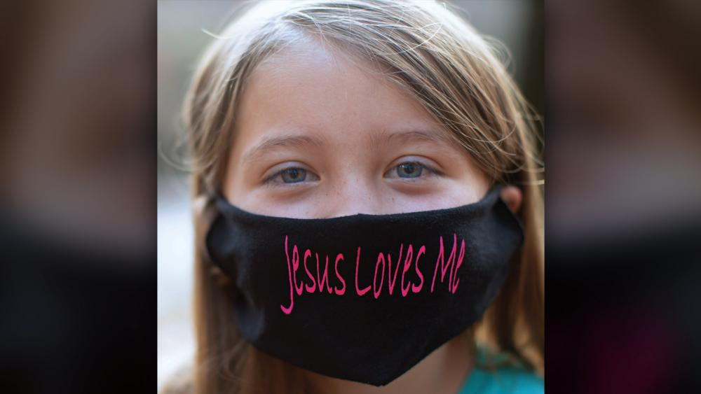 Little Girl's Faith Is Still Making an Impact After School Blocked her for Wearing 'Jesus Loves Me' Mask
