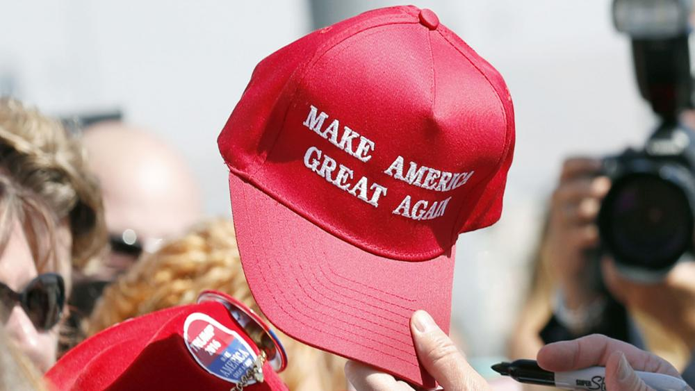 """da11bff3439 ... first-degree wanton endangerment after he allegedly pulled a gun on a  couple who were sporting """"Make America Great Again"""" hats while shopping in  a local ..."""