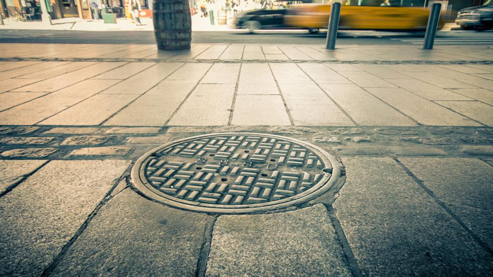"""A manhole cover will now be known as a """"maintenance hole"""" cover in Berkley, California as the city changes gender-specific words in its municiple code to gender-neutral. (Image credit: Adobe)"""