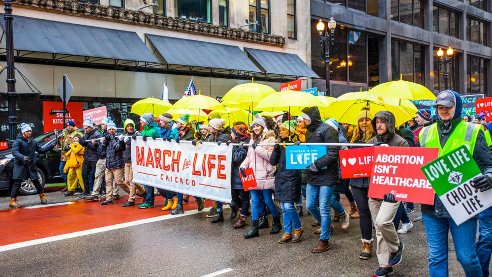 Chicago's 2020 March for Life (Photo: Matt Dula Photography)