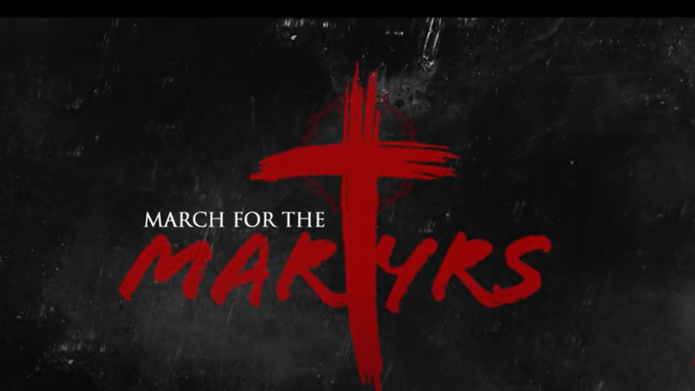 Image Source: YouTube Screenshot/March for the Martyrs